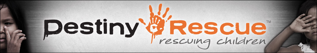 Help stop children trafficking at Destiny Rescue